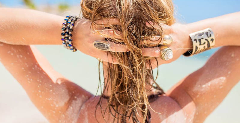 hair sea